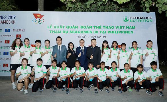 Herbalife Nutrition và VOC tổ chức Lễ xuất quân cho Đoàn Thể thao Việt Nam tham dự SEA Games 30 - Ảnh 2.