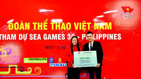 Herbalife Nutrition và VOC tổ chức Lễ xuất quân cho Đoàn Thể thao Việt Nam tham dự SEA Games 30 - Ảnh 3.