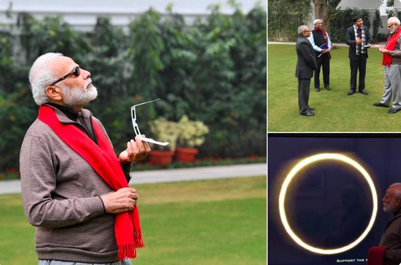 Ai được chọn là thủ tướng ngầu nhất khi xem nhật thực? - Ảnh 1.