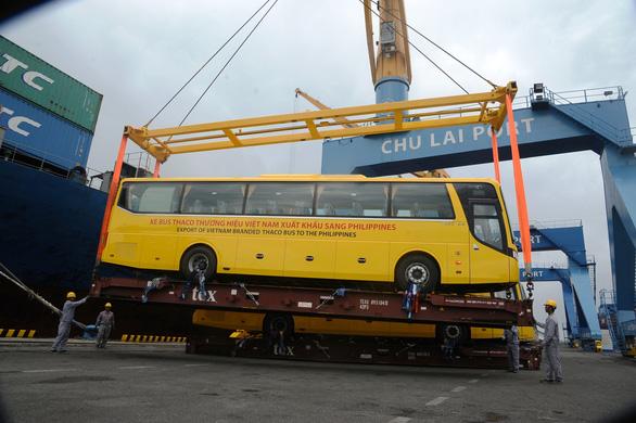 Thaco xuất khẩu xe buýt qua Philippines - Ảnh 6.