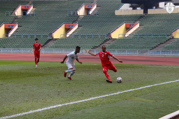 Hòa Saudi Arbia, U23 Jordan phát cảnh báo tuyển Việt Nam - Ảnh 1.