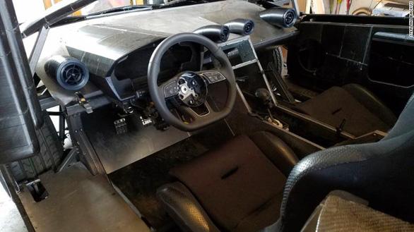 Hai cha con 'chế' mẫu xe Lamborghini bằng công nghệ 3D gây ấn tượng mạnh - Ảnh 4.
