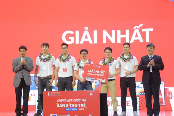 Máy lấy tơ sen đầu tiên tại Việt Nam đoạt giải nhất sáng tạo trẻ - Ảnh 2.
