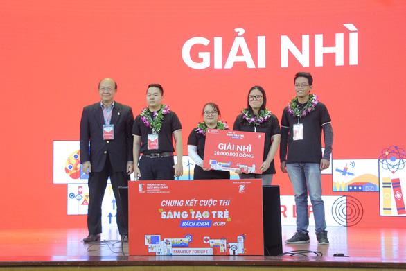 Máy lấy tơ sen đầu tiên tại Việt Nam đoạt giải nhất sáng tạo trẻ - Ảnh 3.