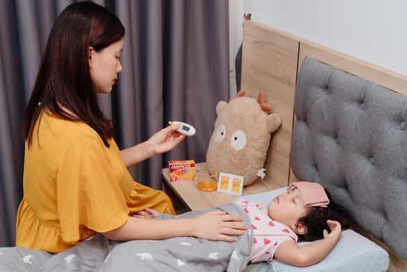 MC Minh Trang chia sẻ cách vượt qua chuỗi ngày chăm con ốm sốt - Ảnh 1.