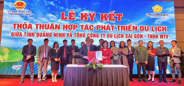 Saigontourist Group ký kết hợp tác phát triển du lịch Quảng Ninh - Ảnh 1.