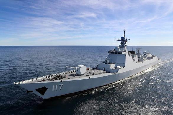 Iran khoe cùng Nga, Trung Quốc tạo tam giác quyền lực trên biển - Ảnh 3.
