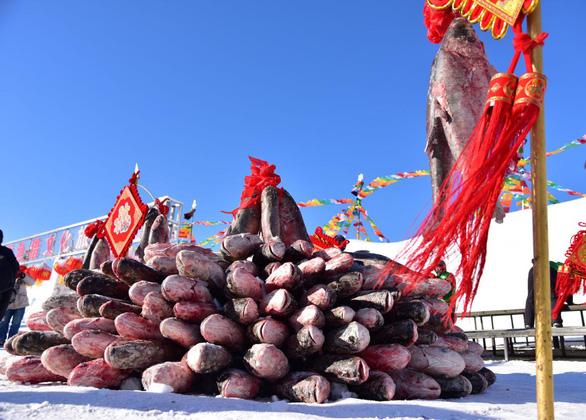 Con cá mè hoa khổng lồ bán với giá gần 10 tỉ đồng - Ảnh 1.