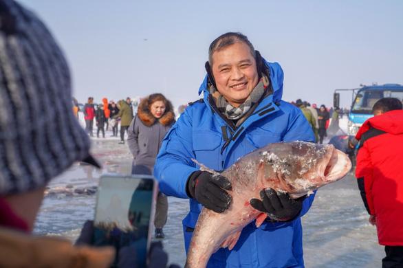 Con cá mè hoa khổng lồ bán với giá gần 10 tỉ đồng - Ảnh 5.