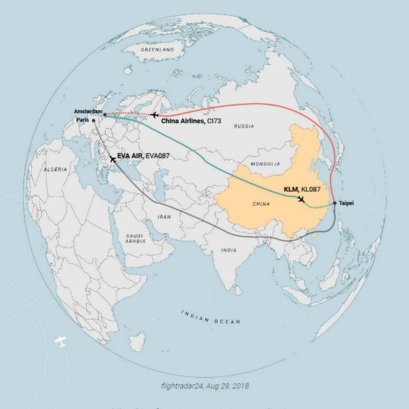 Tại sao nhiều chuyến bay quốc tế cứ vòng vèo? - Ảnh 6.