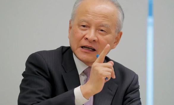 Đại sứ Trung Quốc: Mỹ muốn có thỏa thuận tốt, đừng xen vào Đài Loan - Ảnh 1.