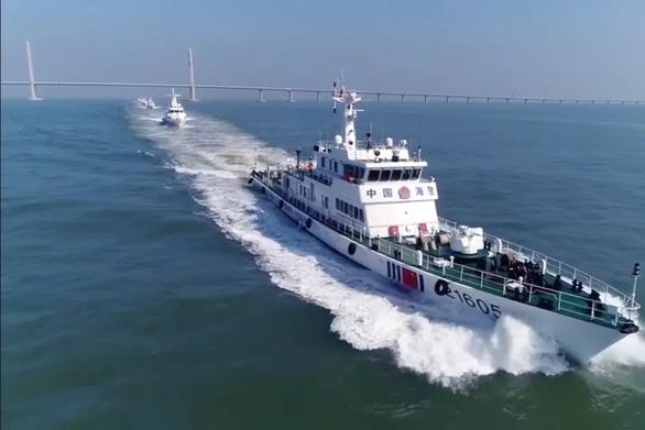 Trung Quốc tuần tra khu vực biển Hong Kong - Chu Hải - Macau - Ảnh 1.