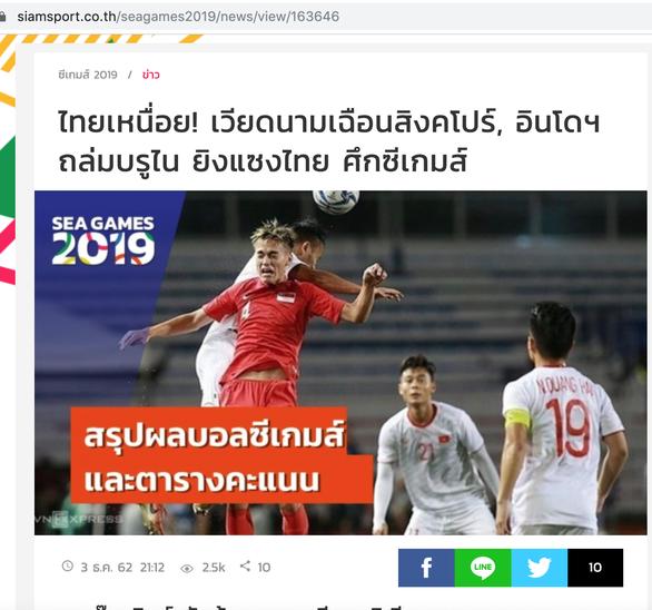 Báo chí Thái Lan: 'Mệt mỏi rồi! Việt Nam vừa mới thắng Singapore' - Ảnh 1.