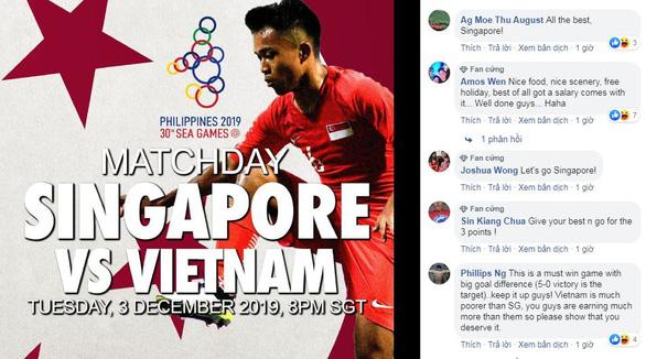 Cổ động viên Singapore: Làm tốt nhất để giành 3 điểm trước Việt Nam - Ảnh 1.