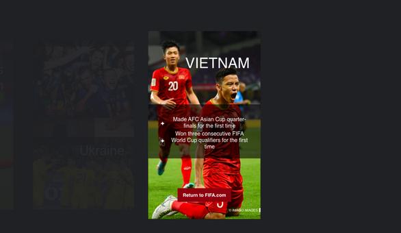 Tuyển Việt Nam lọt top 12 đội tuyển gây ngạc nhiên nhất thế giới - Ảnh 1.