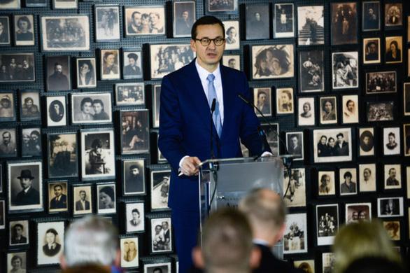 Thủ tướng Ba Lan tố Tổng thống Putin nói dối về Thế chiến 2 - Ảnh 1.
