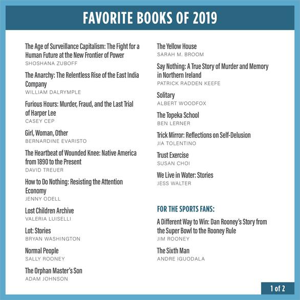 Cựu Tổng thống Obama đọc sách gì trong năm 2019? - Ảnh 2.