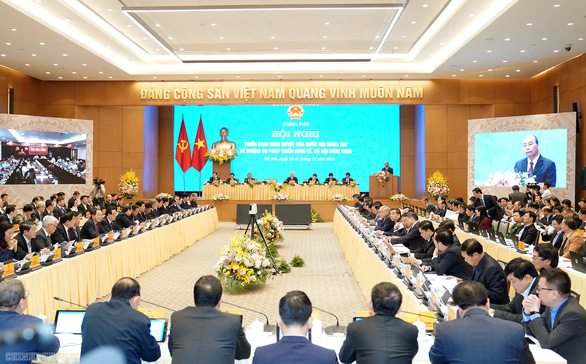 Tổng bí thư, Chủ tịch nước dự hội nghị Chính phủ với địa phương - Ảnh 3.