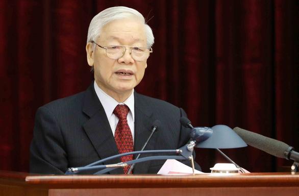Tổng bí thư - Chủ tịch nước chúc mừng 70 năm thành lập Hội Nhà báo Việt Nam - Ảnh 1.