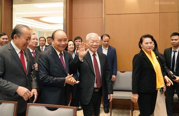 Tổng bí thư, Chủ tịch nước dự hội nghị Chính phủ với địa phương - Ảnh 1.