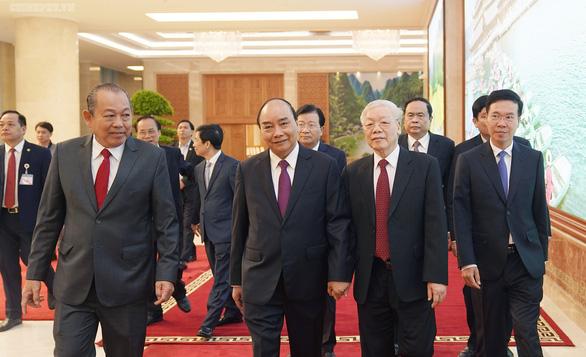 Tổng bí thư, Chủ tịch nước dự hội nghị Chính phủ với địa phương - Ảnh 2.