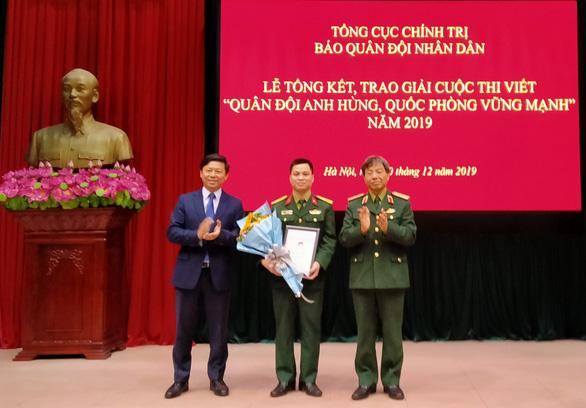19 tác phẩm được trao giải cuộc thi viết về quân đội, quốc phòng - Ảnh 1.
