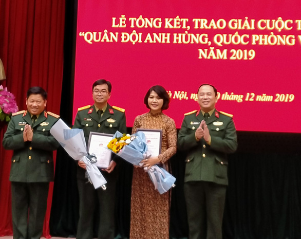 19 tác phẩm được trao giải cuộc thi viết về quân đội, quốc phòng - Ảnh 2.