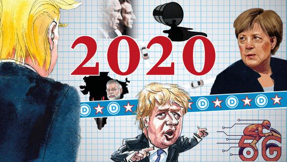 6 điểm nóng toàn cầu năm 2020 - Ảnh 1.