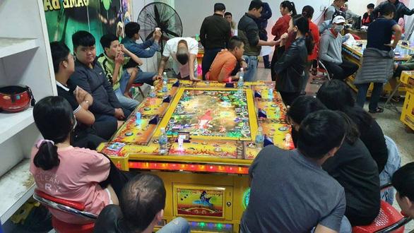 Phát hiện cơ sở game bắn cá tổ chức đánh bạc, thu hút con bạc là thiếu niên - Ảnh 1.