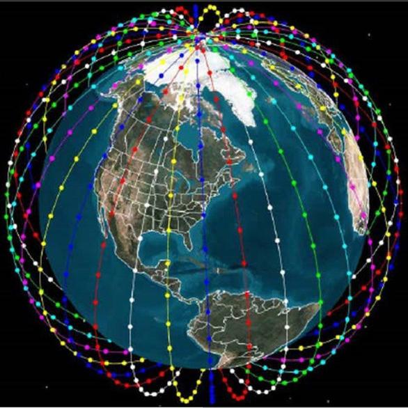 Internet sẽ phủ không sót chỗ nào với 20.000 vệ tinh bao bọc hành tinh - Ảnh 1.