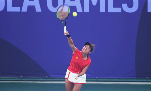 Quần vợt Việt Nam chạm mốc lịch sử ở SEA Games - Ảnh 1.