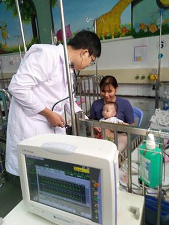 Điều trị thành công cho trẻ bị rối loạn nhịp tim nhỏ ký nhất - Ảnh 1.