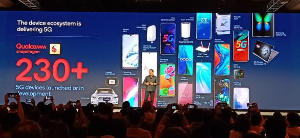 Nhiều hãng điện thoại tuyên bố ra mắt smartphone 5G ngay đầu năm 2020 - Ảnh 1.