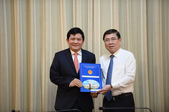 Ông Phạm Phú Quốc làm tổng giám đốc Công ty Phát triển Tân Thuận - Ảnh 1.