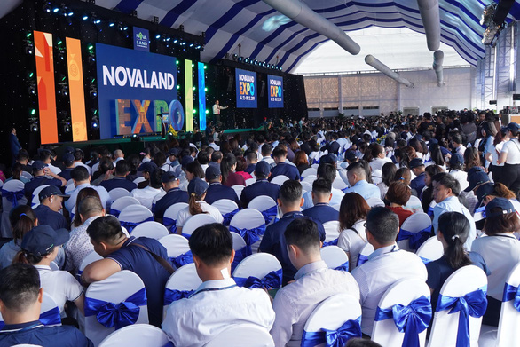 Tưng bừng khai mạc triển lãm BĐS Novaland Expo 12-2019 - Ảnh 1.