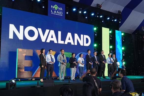 Tưng bừng khai mạc triển lãm BĐS Novaland Expo 12-2019 - Ảnh 3.