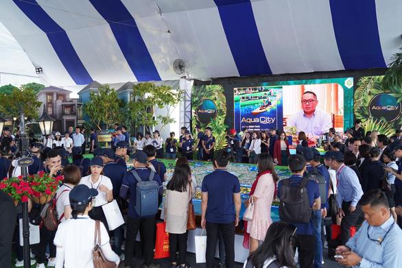 Tưng bừng khai mạc triển lãm BĐS Novaland Expo 12-2019 - Ảnh 4.