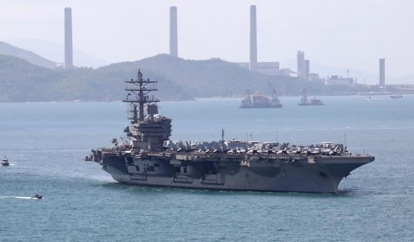 Trung Quốc nói không với tàu chiến Mỹ, dân mạng Đài Loan lên tiếng gọi mời - Ảnh 1.