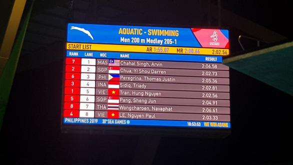 SEA Games ngày 5-12: Bơi lội, đấu kiếm và Pencak Silat đoạt 4 huy chương vàng - Ảnh 3.