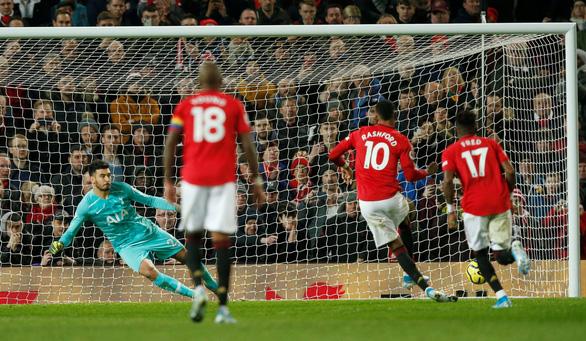 M.U đá bại Tottenham trong ngày HLV Mourinho trở lại sân Old Trafford - Ảnh 2.