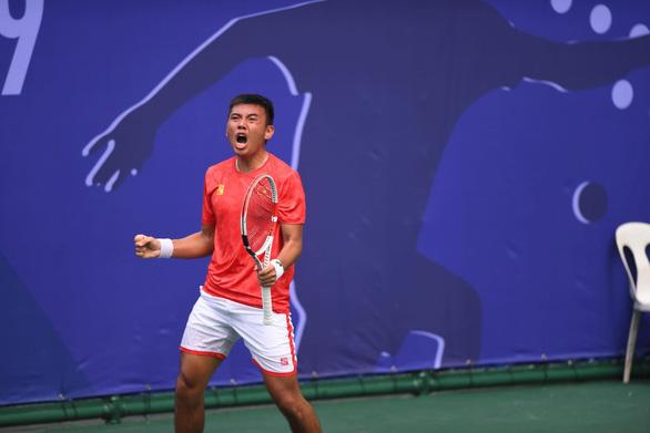 Lần đầu tiên quần vợt Việt Nam thống trị nội dung đơn nam tại SEA Games - Ảnh 2.