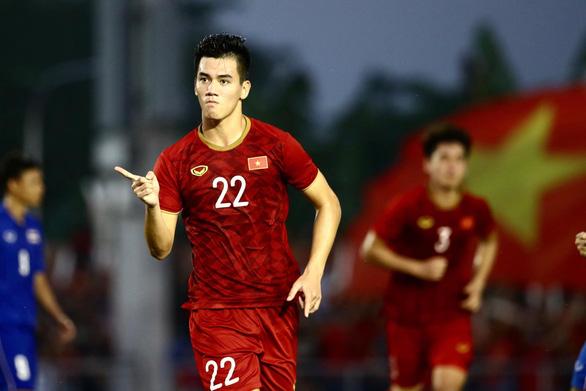 Loại Thái Lan, U22 Việt Nam vào bán kết SEA Games gặp Campuchia - Ảnh 1.