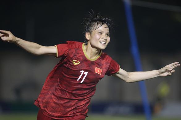 Thắng Philippines, nữ Việt Nam gặp lại Thái Lan ở chung kết SEA Games 2019 - Ảnh 1.