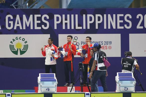 SEA Games ngày 5-12: Bơi lội, đấu kiếm và Pencak Silat đoạt 4 huy chương vàng - Ảnh 4.
