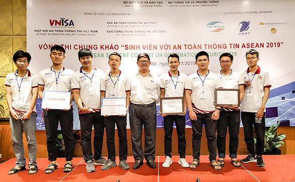 ĐH Duy Tân đoạt giải ba cuộc thi sinh viên với an toàn thông tin ASEAN 2019 - Ảnh 2.