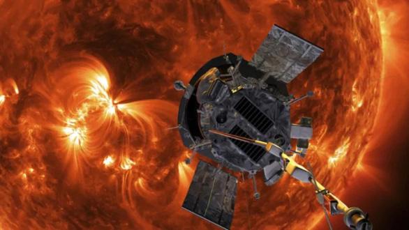 Tàu Parker áp sát Mặt trời, phát hiện bất ngờ: từ trường đảo ngược kỳ lạ - Ảnh 1.
