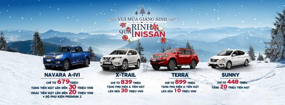 Nissan Việt Nam ưu đãi cho khách hàng mua xe dịp cuối năm - Ảnh 1.