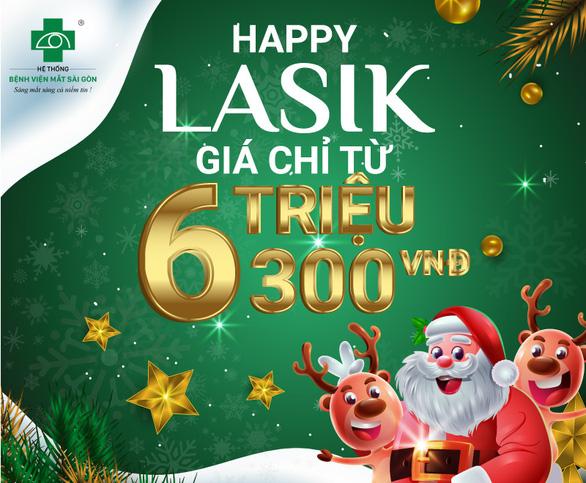 Happy Lasik 2020 - hỗ trợ lên đến 40% chi phí phẫu thuật tật khúc xạ - Ảnh 3.