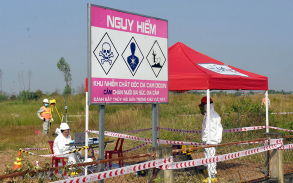 300 triệu USD xử lý dioxin ở sân bay Biên Hòa - Ảnh 1.