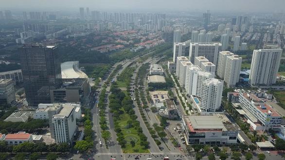Đô thị Nam Sài Gòn tăng tốc phát triển - Ảnh 1.